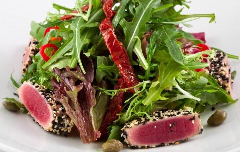 Салат из тунец фото